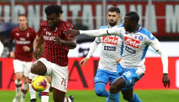 Napoli – AC Milan: de strijd om Europees voetbal