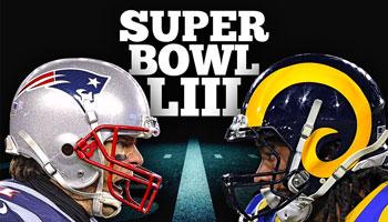 La relève de la garde ? La magie des GOAT sera opposée aux béliers aux super cerveaux lors de ce Super Bowl LIII