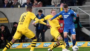Dortmund – Hoffenheim: de thuisploeg is zeker van de tweede plaats