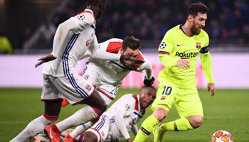 Lyon - Barcelone : l'équipe de Messi à nouveau en quarts ?
