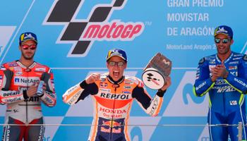 Moto GP d'Aragón : un nouveau succès pour Marquez sur ses terres ?