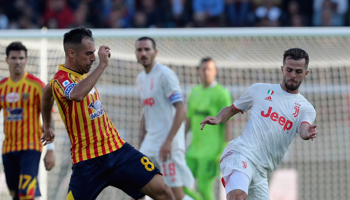 Juventus – Lecce: blijft Juventus aan de leiding staan?