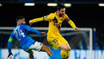 FC Barcelone – Naples : la tâche s'annonce compliquée pour Mertens et ses coéquipiers