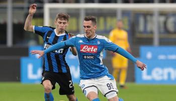 Napoli – Inter Milaan: de heenwedstrijd eindigde op 0-1 in het voordeel van Napoli