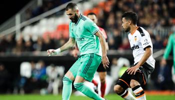 Real Madrid – Valencia: blijft Real in het zog van leider Barcelona?