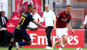 Alexis Saelemaekers maakt eerste doelpunt voor AC Milan
