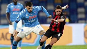 AC Milan – Napoli: blijft Milan in het zog van Inter Milaan?