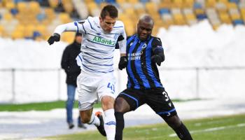 Club de Bruges – Dynamo Kiev : les Blauw en Zwart ont pris un léger avantage à l'aller