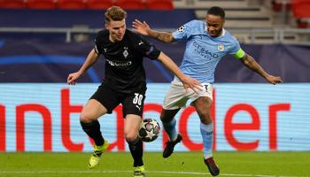 Manchester City – M'gladbach: Man City is bijna zeker van de kwalificatie