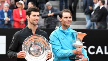 ATP Masters 1000 Rome : les spécialistes sont Nadal et Djokovic