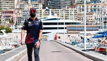 De 2021 Monaco F1 Grand Prix. Hamilton en Verstappen zijn de favorieten.