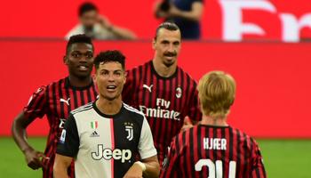 Juventus - AC Milan: de strijd om de tweede plaats in de Serie A