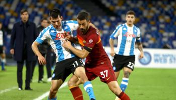 AS Roma - Napoli: beide teams hebben evenveel punten