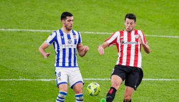Real Sociedad - Athletic Bilbao: springt Sociedad naar de vijfde plaats?