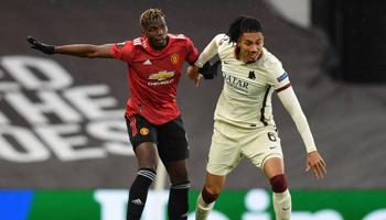 AS Roma - Man United: United is zo goed als zeker van de kwalificatie