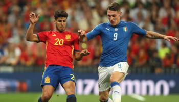 Italië - Spanje: de Italianen zijn nu favoriet voor eindwinst