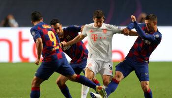 FC Barcelone - Bayern Munich : les vieux démons du 2-8 en 2020