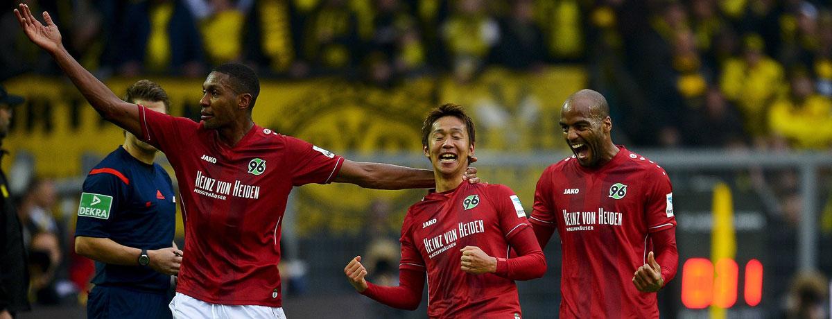 Die Roten bei bwin: Wetten zu Hannover 96