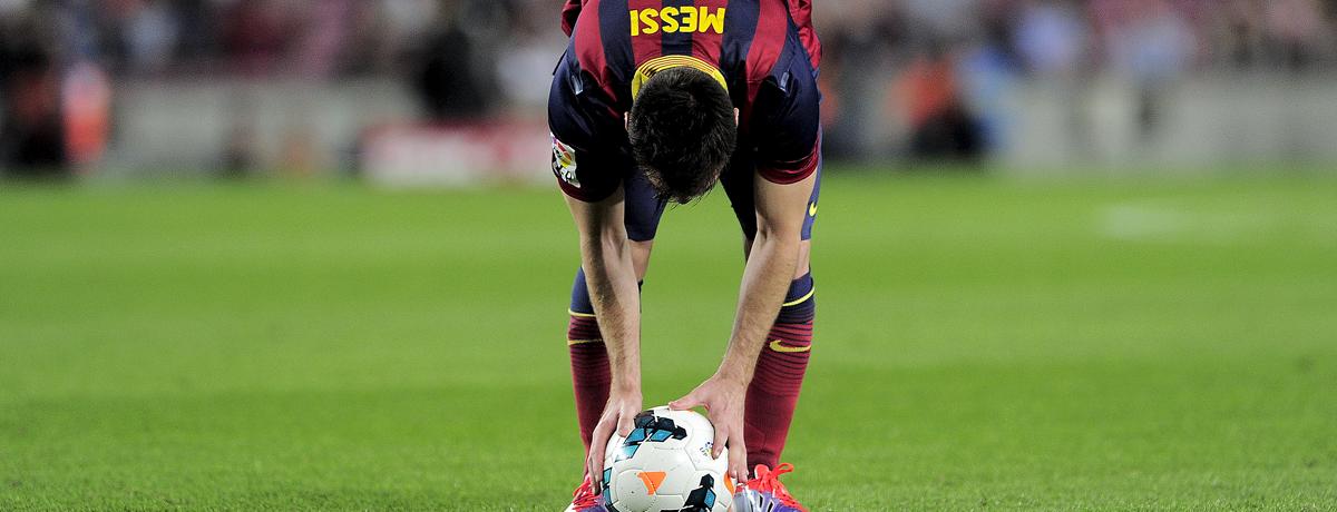 Schwächen bei Messi? Seht selbst …