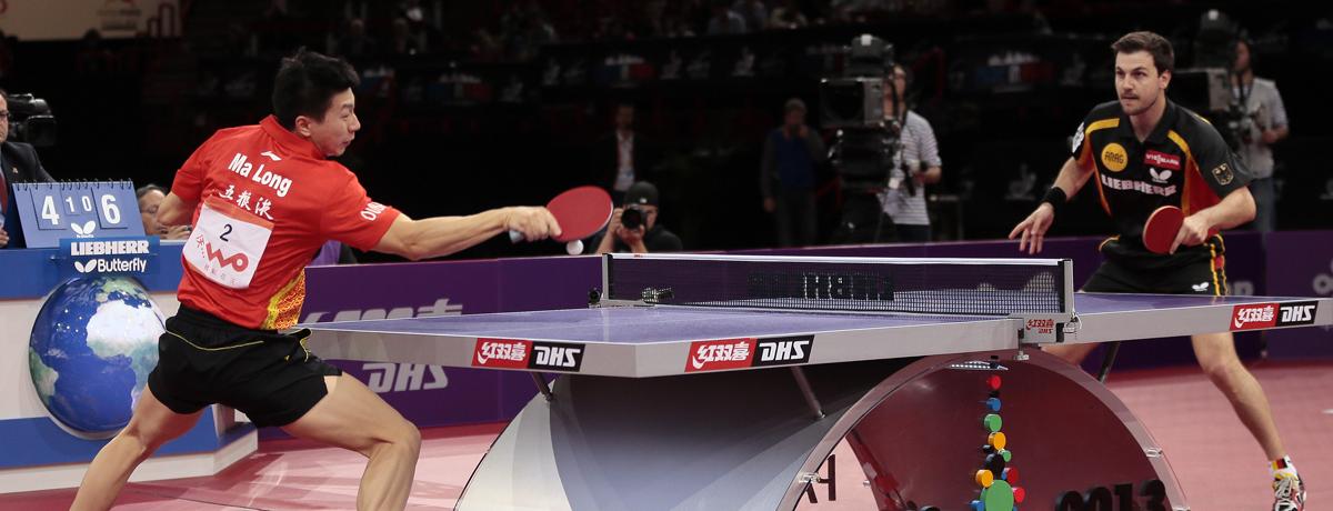Tischtennis WM: Deutsch-Chinesisches Traum-Doppel