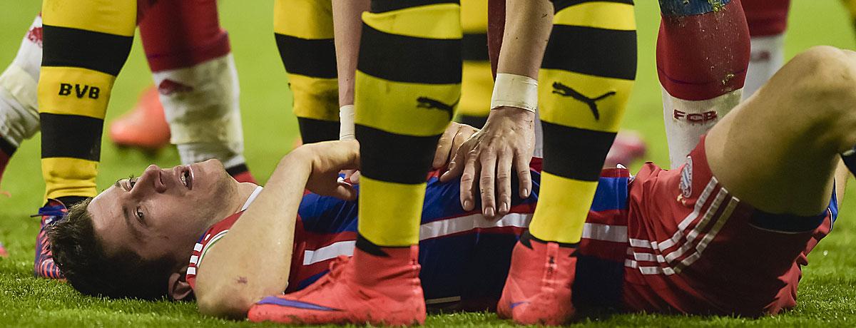Bayern gegen Dortmund: Fehlentscheidungen in Serie