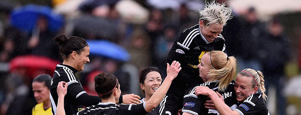 Frauenfußball: Deutsche Ladies soweit das Auge reicht