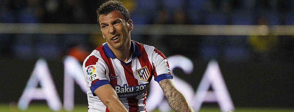 Mario Mandzukic: Auch bei Atletico hat er Probleme