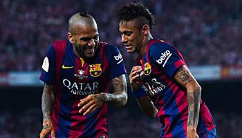 Juventus gegen Barcelona im direkten Spielervergleich
