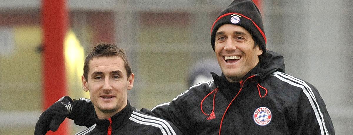 Luca Toni und Miroslav Klose: Oldie but Goldie