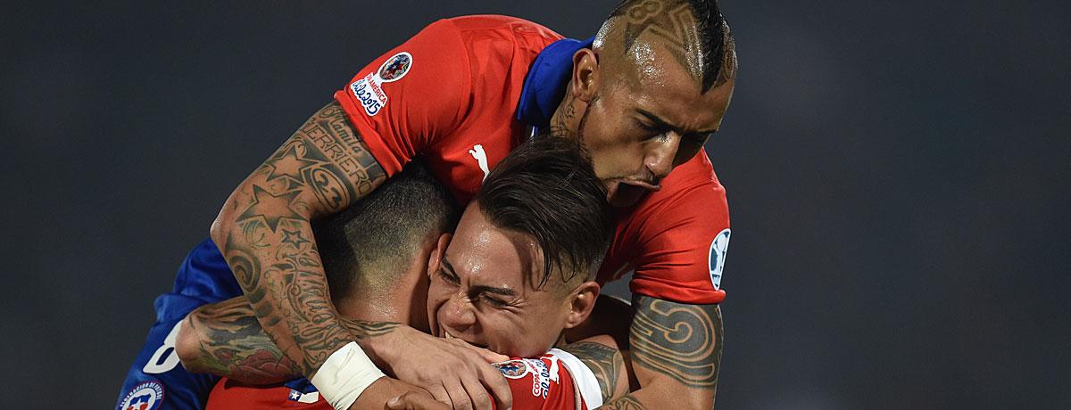 Copa America 2015: Chile gewinnt, weil ...