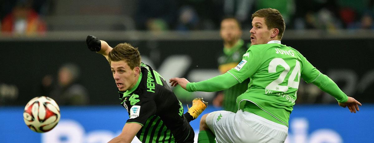 Gladbach - Wolfsburg: Wunden lecken nach Manchester