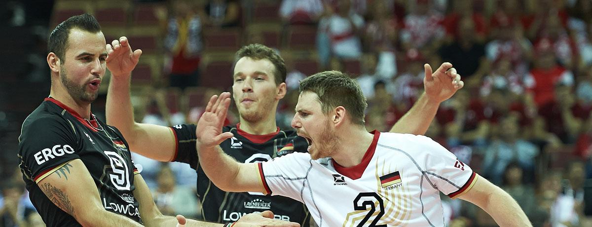 Volleyball EM: Deutsche Herren schielen auf die Medaille