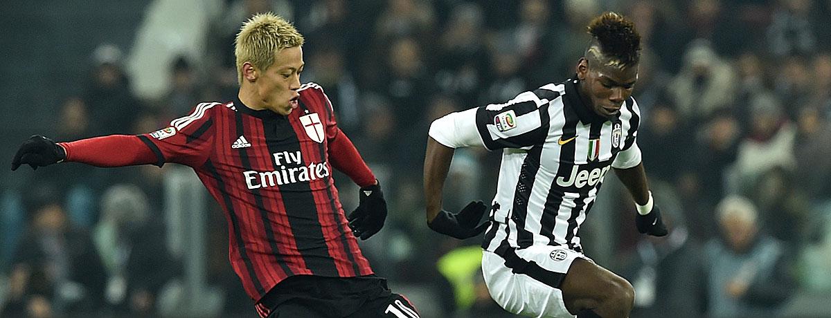 Juventus gegen Milan: 5 Fakten zum Klassiker