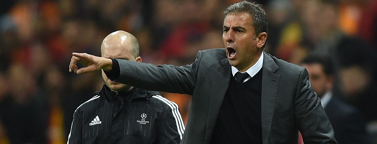 Galatasaray: Trainerstuhl ein Schleudersitz