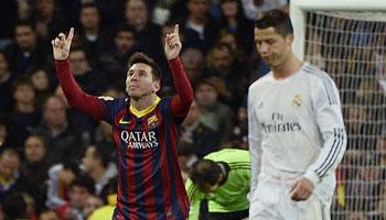 Lionel Messi kann mehr Clasico als Ronaldo