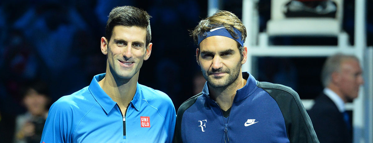 Djokovic vs Federer: Der ultimative Vergleich