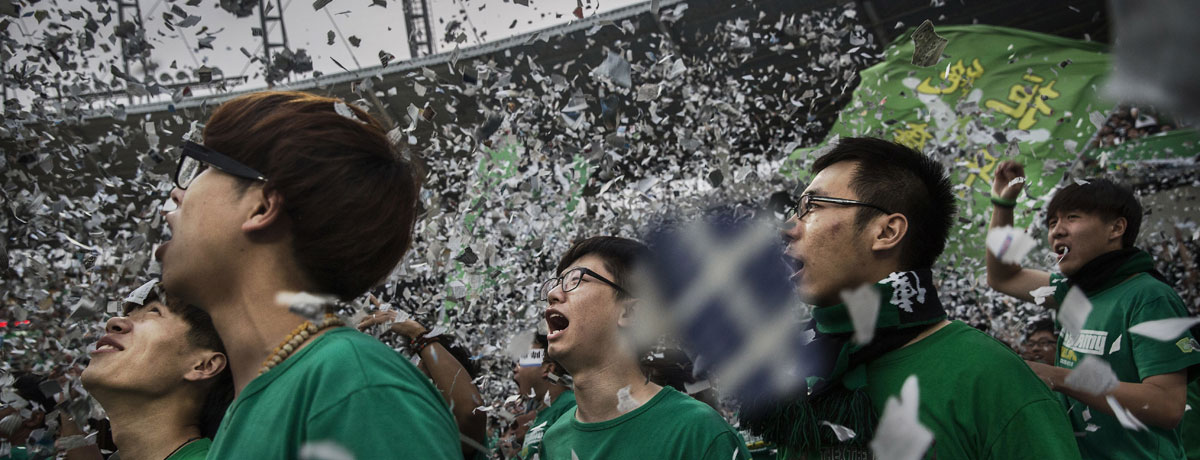 Super League in China: Mit Geldregen zur Fußballmacht!