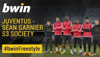 Juventus gegen Sean Garnier's S3 Freestyler