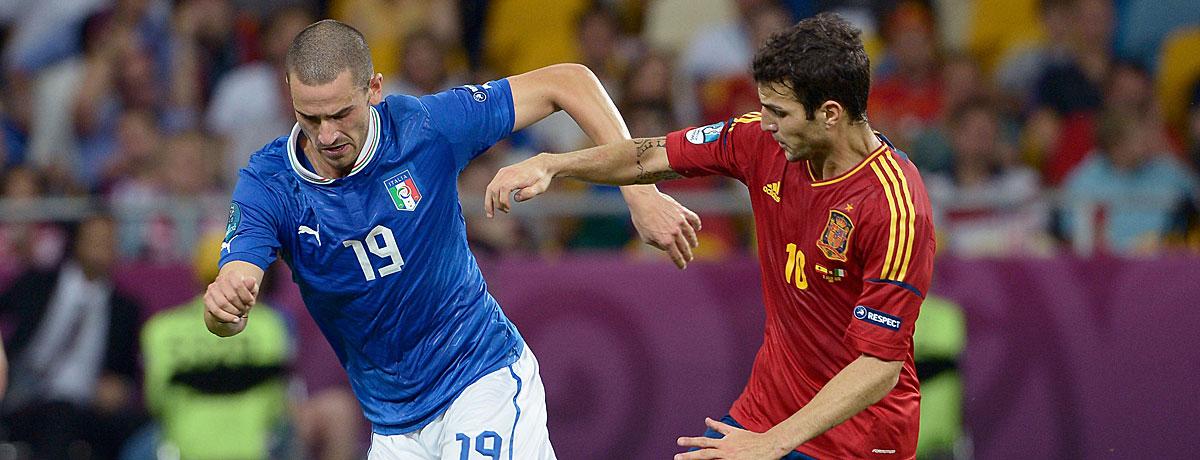 EM 2016: Italien als gutes Omen für die Spanier!