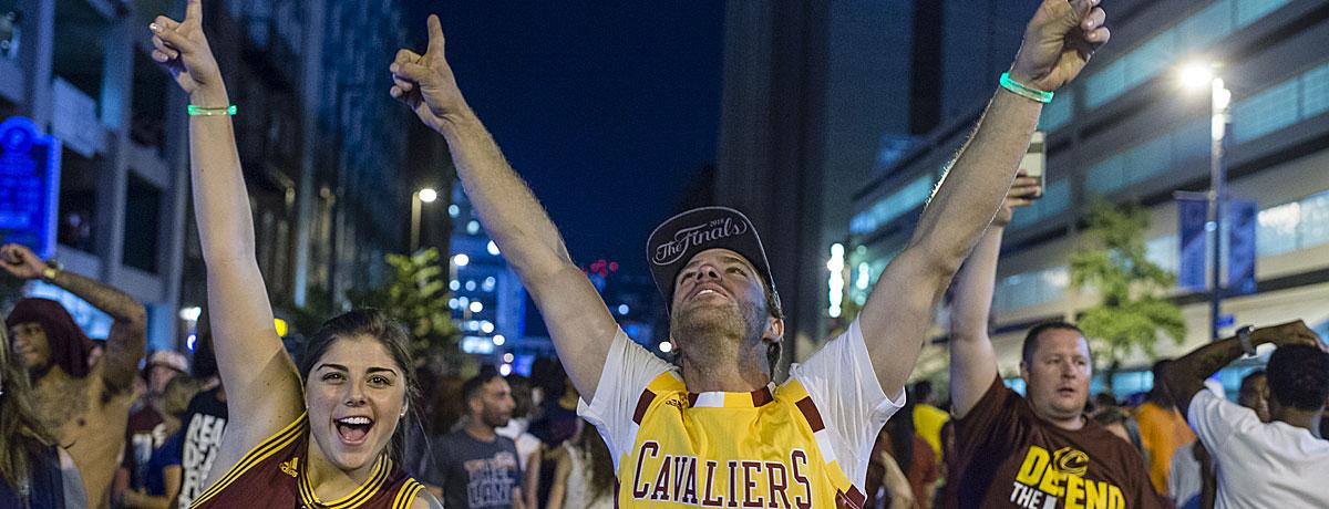 USA: Cleveland feiert, aber New York bleibt das Nonplusultra