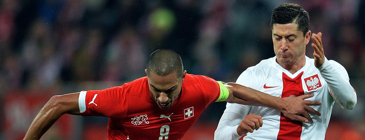 EM 2016: Schweiz - Polen, Spielvorschau & Wetten