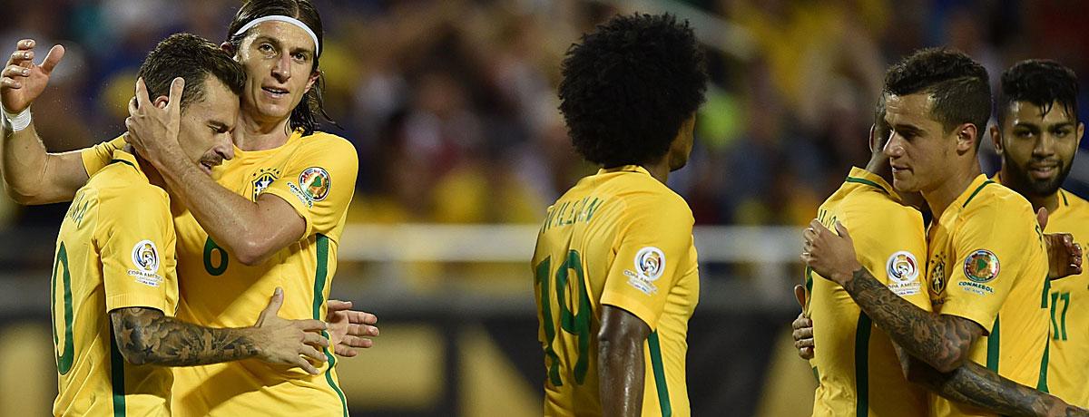 Brasilien im Torrausch: Die höchsten Siege bei großen Turnieren