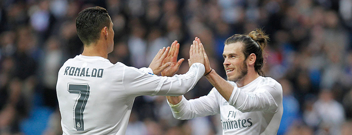 Portugal gegen Wales: Ronaldo und Bale im Vergleich