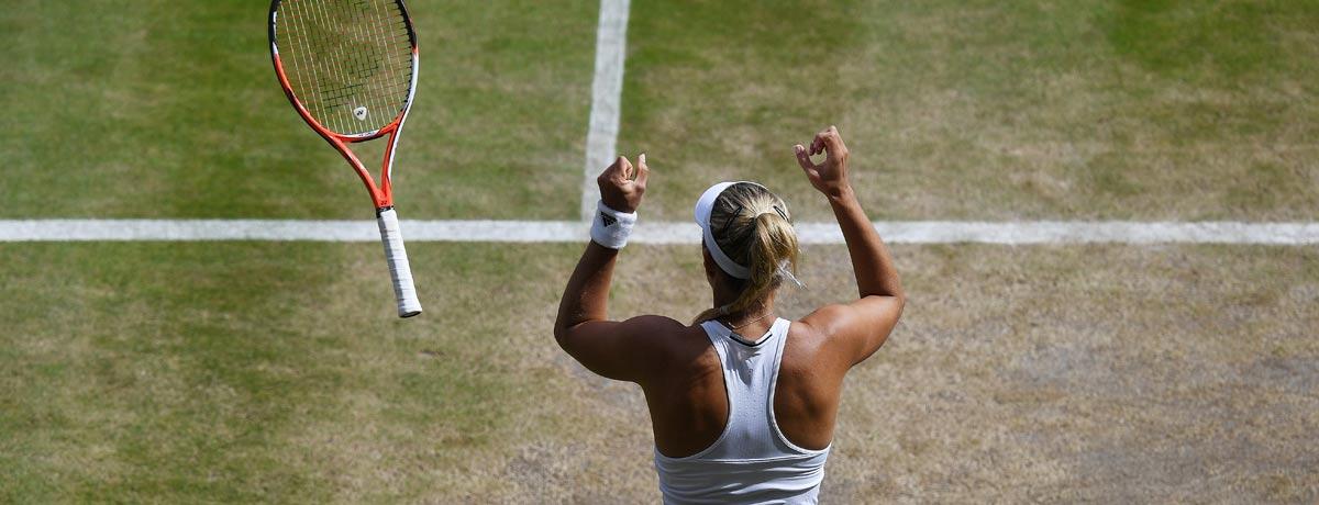 Angelique Kerber: So stehen die Quoten auf den Wimbledon-Sieg!