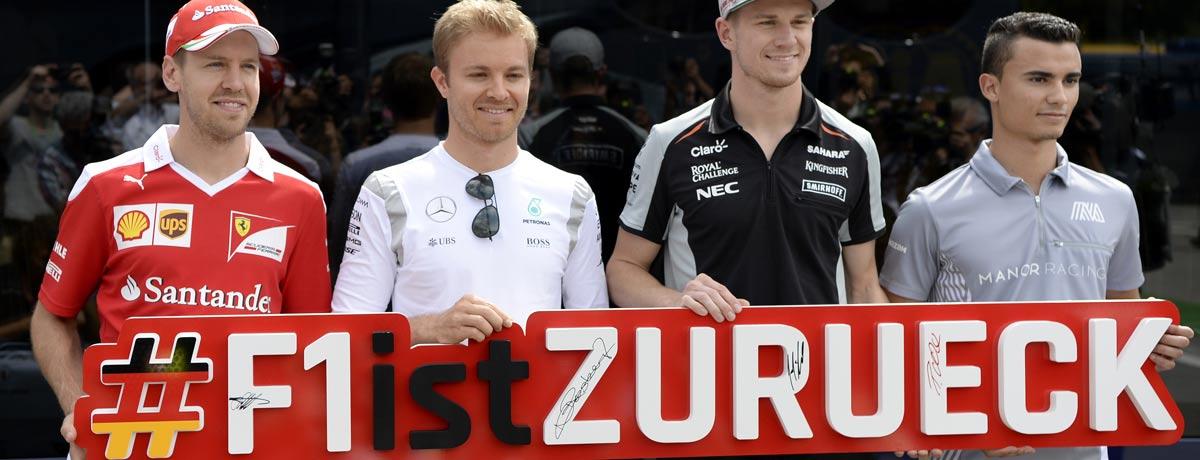 Formel 1-Infografik: Das Heimspiel auf dem Hockenheimring