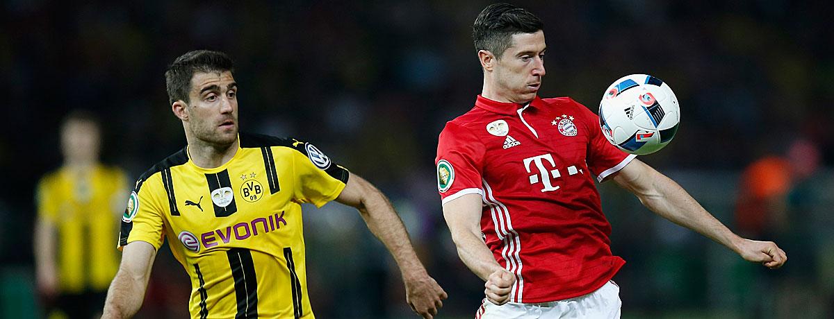 Borussia Dortmund – Bayern München, Spielvorschau & Wetten