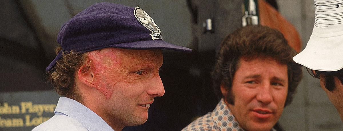 Niki Lauda: Ein Unfall, der in die Geschichte einging