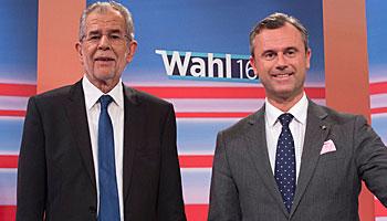 Bundespräsidentenwahl in Österreich: Ruck nach rechts?