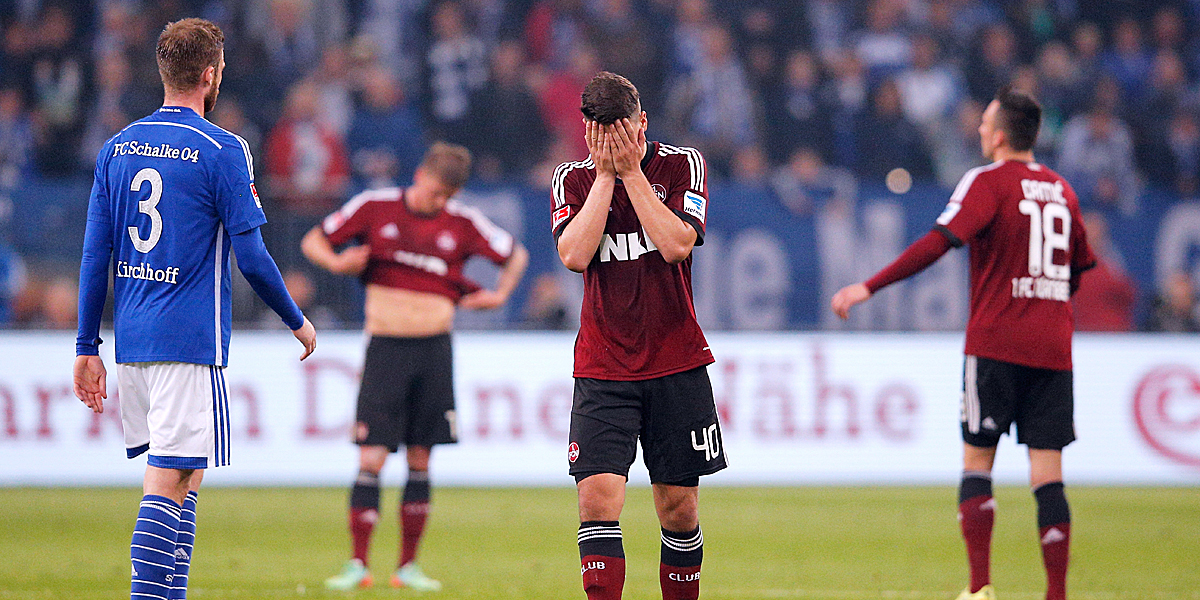 Schalke besiegelte den FCN-Abstieg 2014