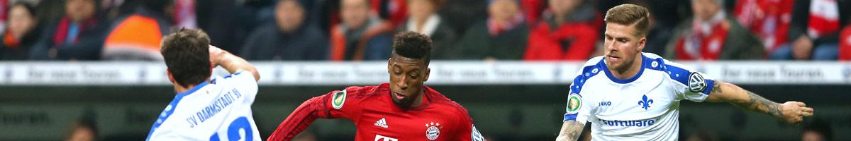 SV Darmstadt - FC Bayern: Vorschau, Quoten & Wetten   18.12.2016